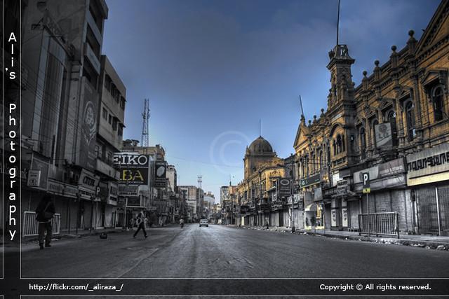 Forgotten streets, Karachi | Zaibunnisa Street is a famous s… | Flickr