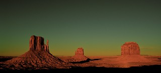 The Mittens, Monument Valley, Utah/Arizona, Down from the Visitor Center at the Navajo Tribal Park | by Alex E. Proimos