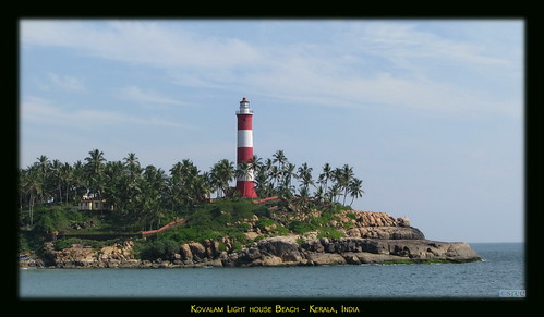 lighthouse beach beautiful canon natural kerala kovalam s5is canons5is