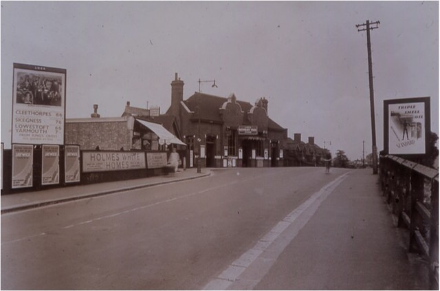 Newbury Park station, London, c1935