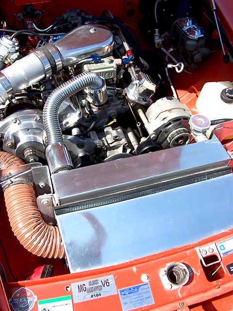 MG V6 motor