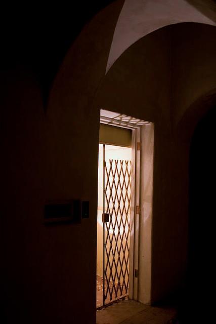 Original Elevator of Jackling House