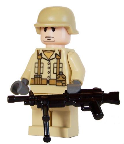 Bricks Of War - US Marine with LMG and Bipod (Operation Ir