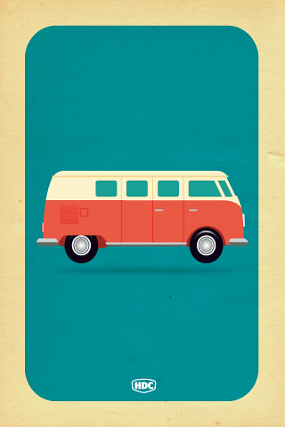 ... VW Camper Van Iphone Wallpaper   By Neal McCullough