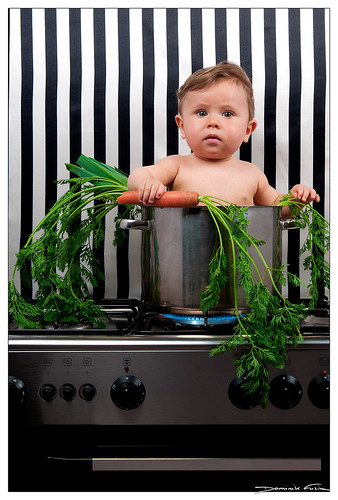 Baby cook by dominikfoto