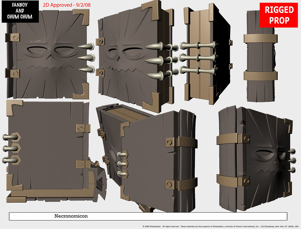Necronomicon Model Pack | Kyle's Necronomicon from Fanoby an