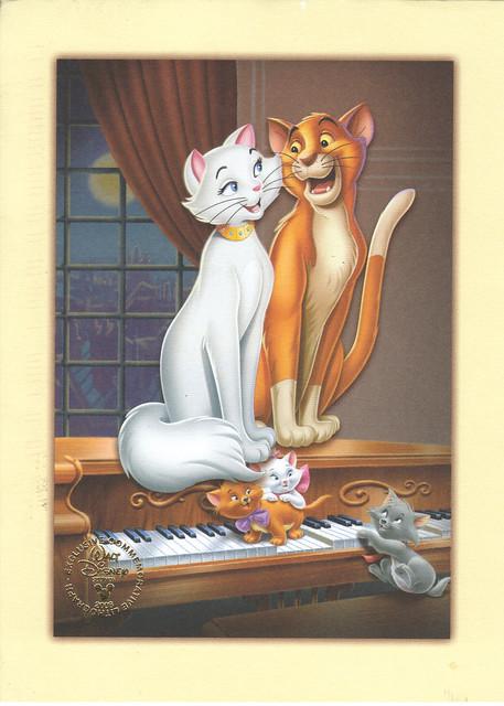 Disney Aristocats Postcard