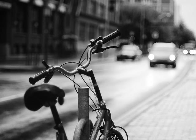 Raindrops on a Bicycle