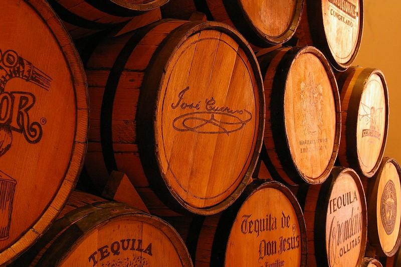 tequila barrels mexico