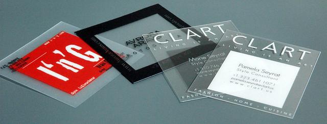 Quadratische Transparente Visitenkarten Bce Online Flickr