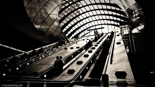 London Canary Wharf Station