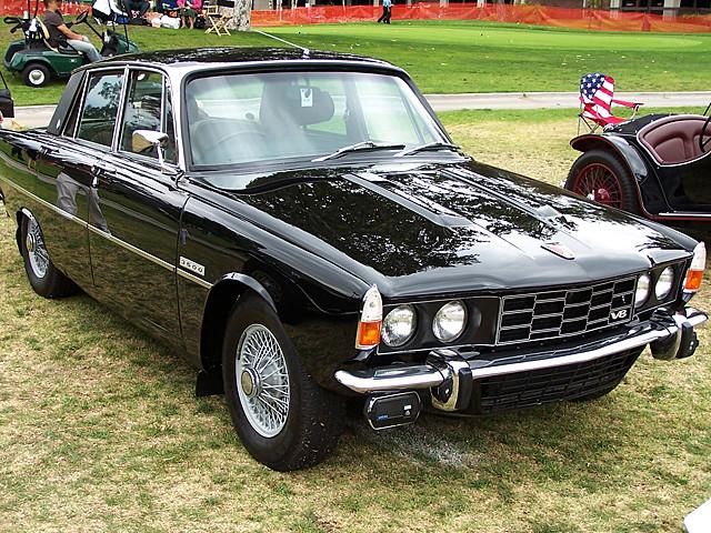 1969 Rover P6-B