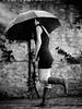 Lina unterm Schirm 1 by woodenkai