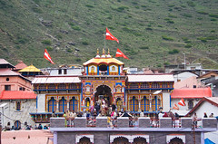 Badrinath Temple   by sumeet basak