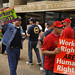 USW Protest Demonstration at Mexican Embassy