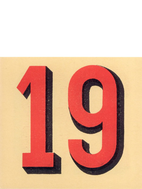 calendrier n19