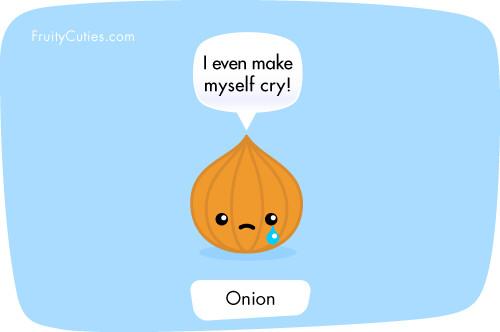 Cute Cartoon Onion Joke