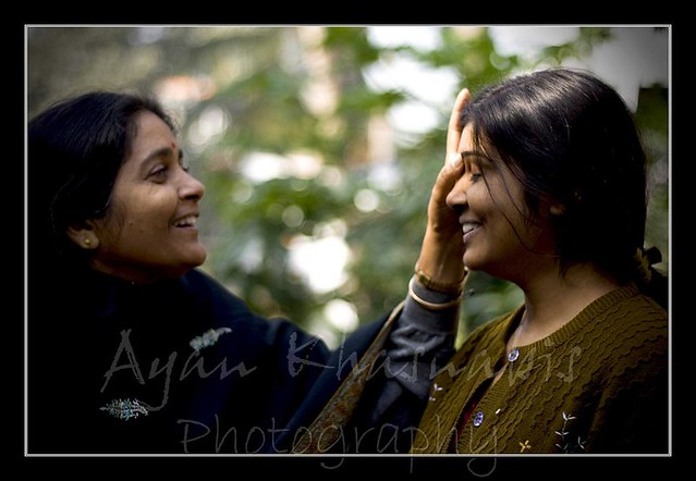 Mom with my Sister | On the day of her marriage