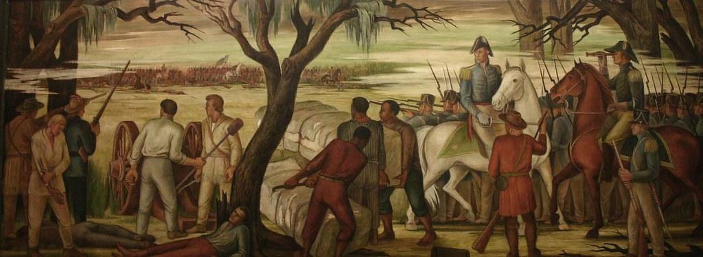 """Battle of New Orleans"" by Ethel Magafan"