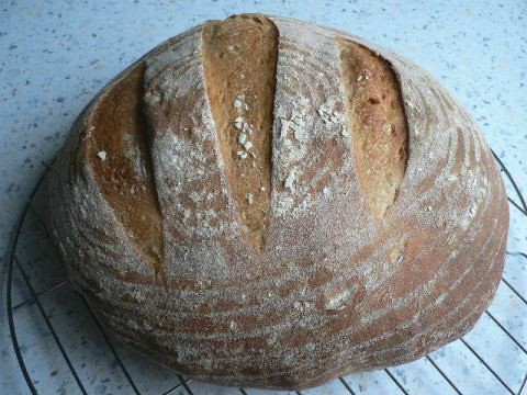 PPaul Merry's French Country Bread 001