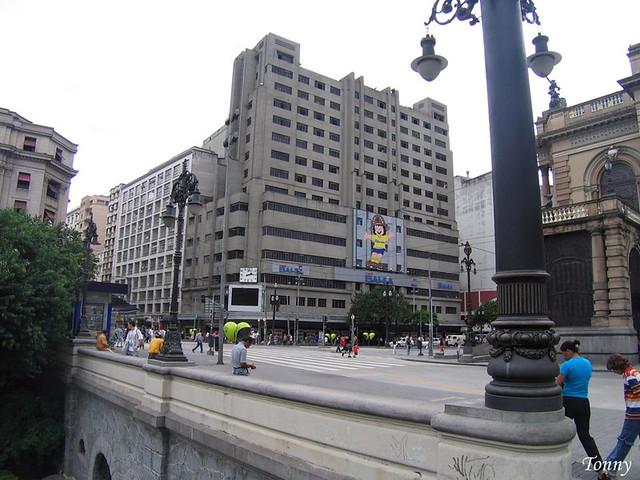 eb777af475 Praça Ramos de Azevedo - São Paulo. | Antigo Mappin, hoje Ca… | Flickr