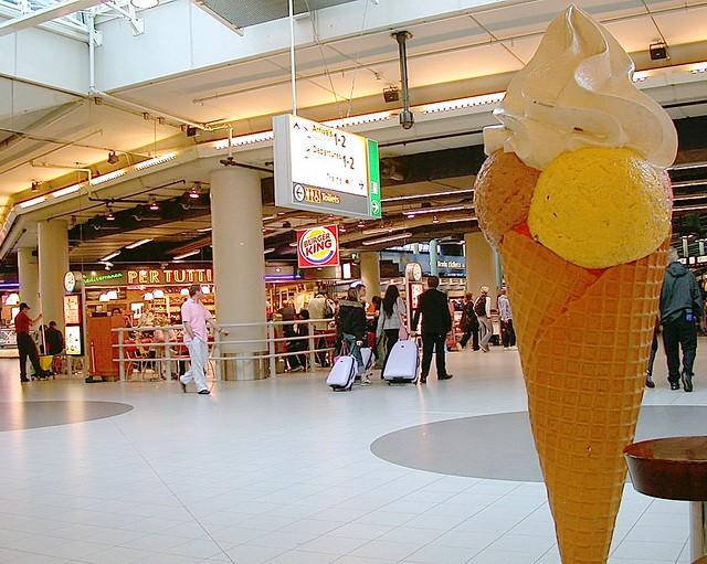 Aeropuerto  de Amsterdam