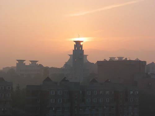 building sunrise canon dawn taiwan g2 chiayi ccu