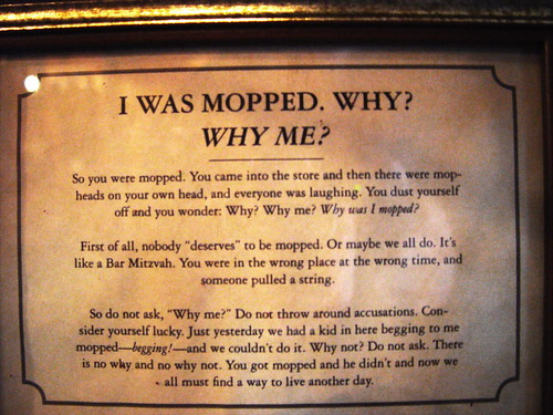 I was mopped | by jvoves
