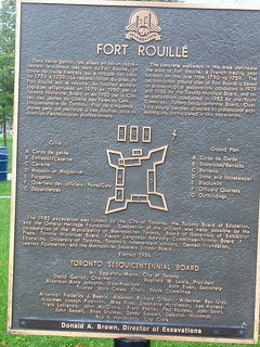 Fort Rouille Plaque