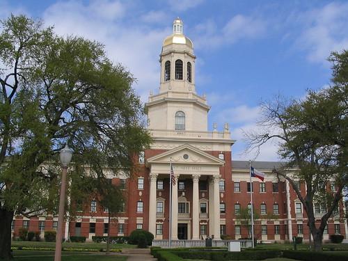 Neff Hall, Baylor University, Waco, Texas   by Ken Lund