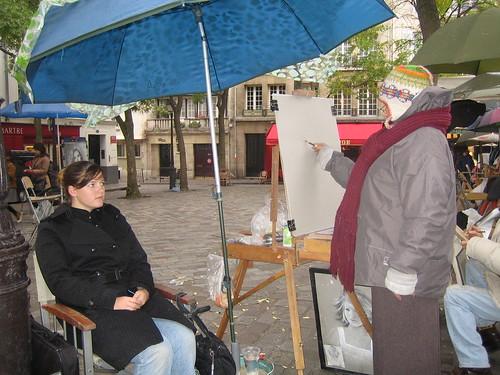 Portraiture in Montmartre 1 | by fboosman