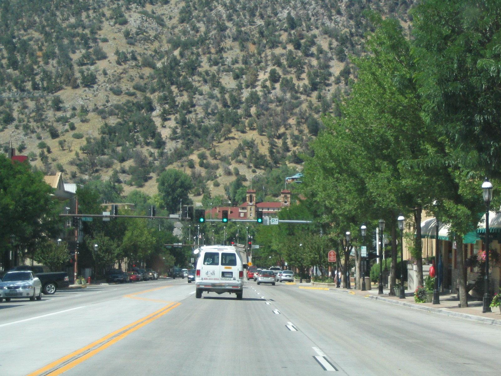 Colorado Route 82, Glenwood Springs, Colorado