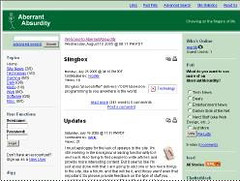 my old website