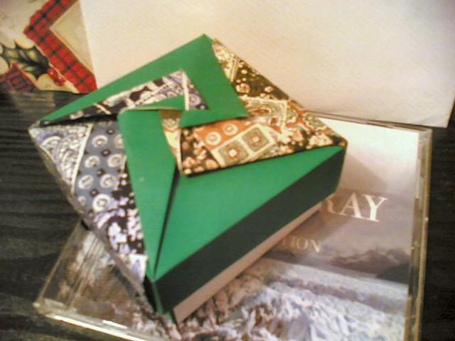 Origami Box A Lovely Birthday Present Having Already