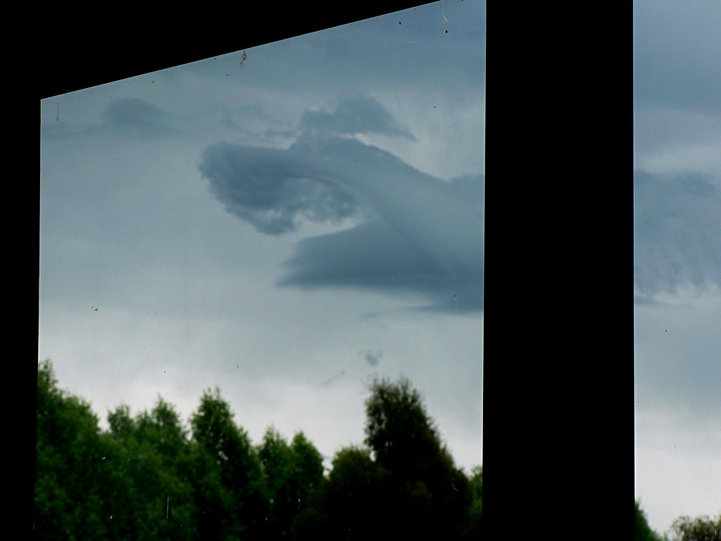 cloud through the window | saw this sitting at my desk this … | Flickr