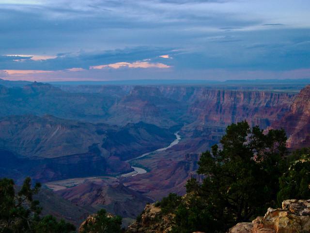 Grand Canyon, Arizona - River twilight