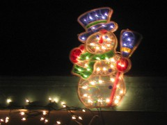 Lighted Snowman | by thisgeekredes