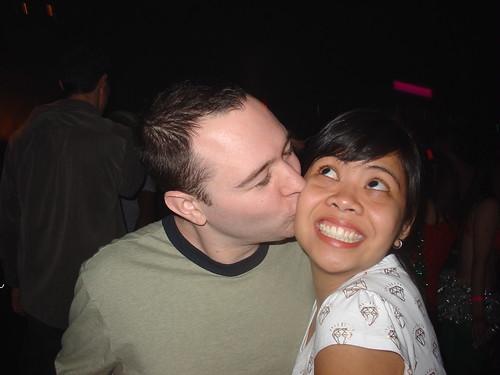 Kissing Kristin