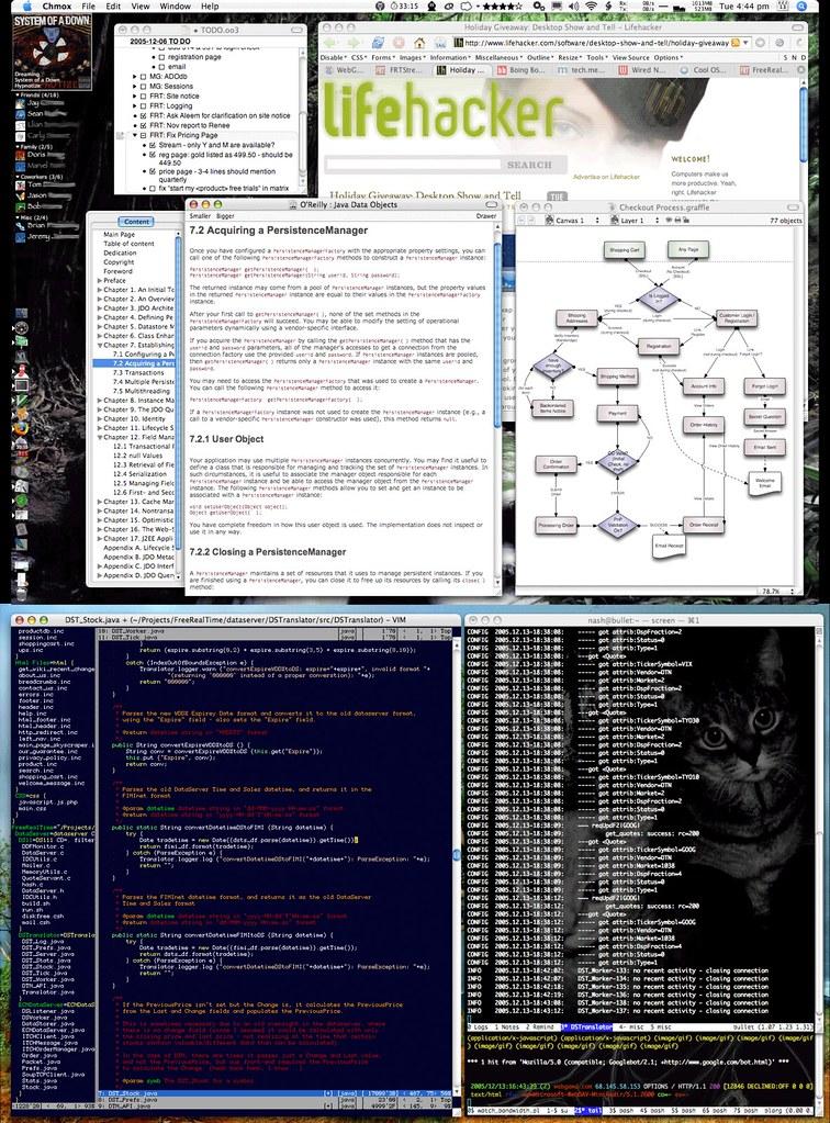 A Coder's Desktop