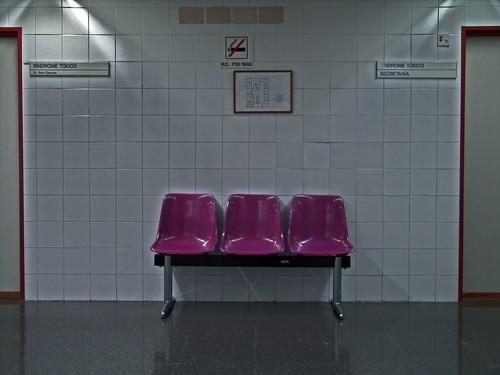 Social Security waiting room   by Xosé Castro