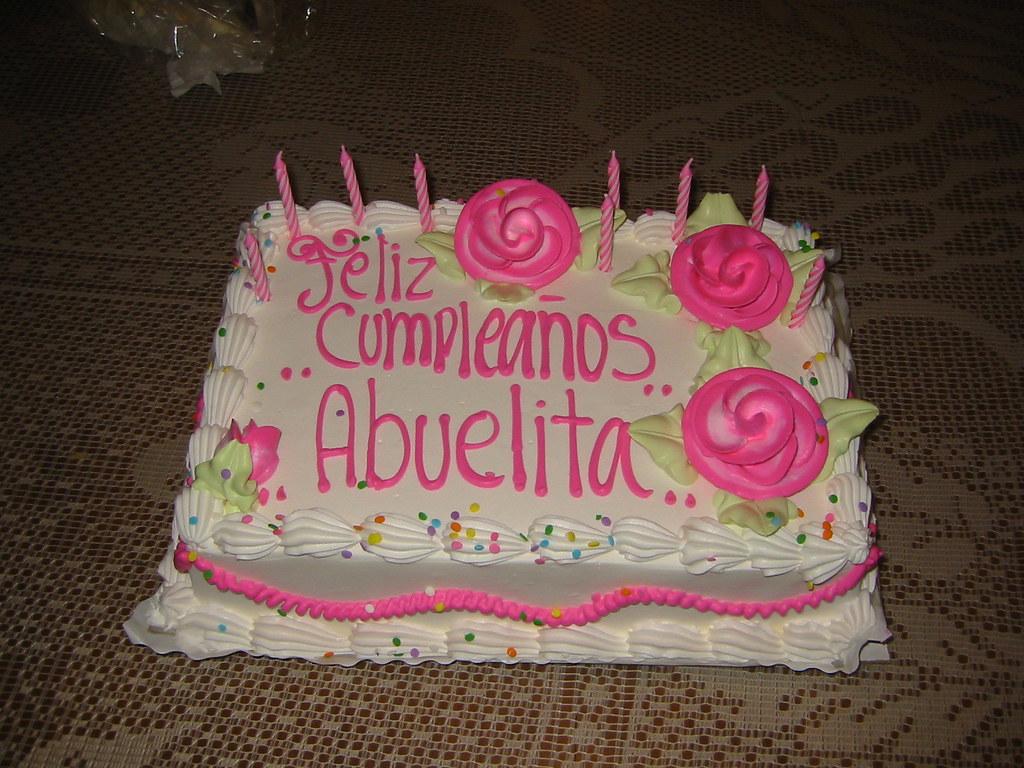 Prime Grandmas Birthday Cake A Cake To Celebrate My Grandmother Flickr Funny Birthday Cards Online Kookostrdamsfinfo