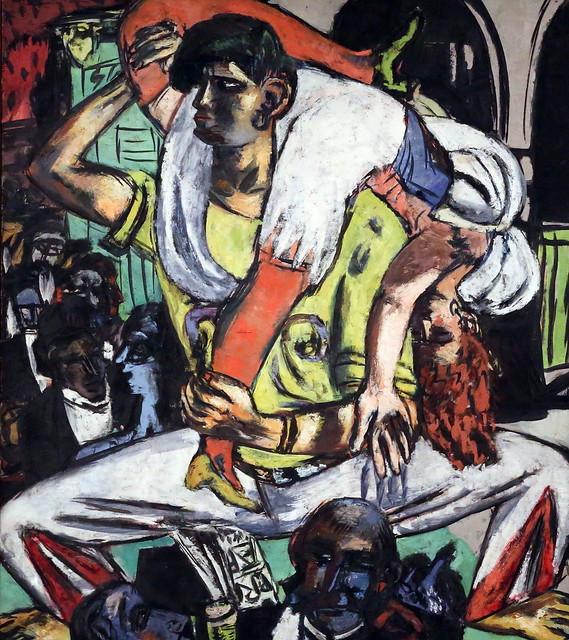 IMG_7709 Max Beckmann. 1884-1950. Apachentanz. Danse Apache. Apache dance. 1938. Bremen Kunsthall