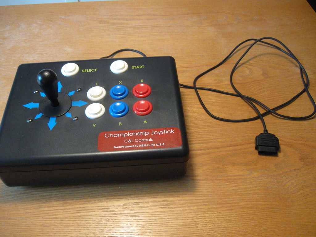 Street Fighter 2 Arcade Stick Snes They Should Have Kept T Flickr