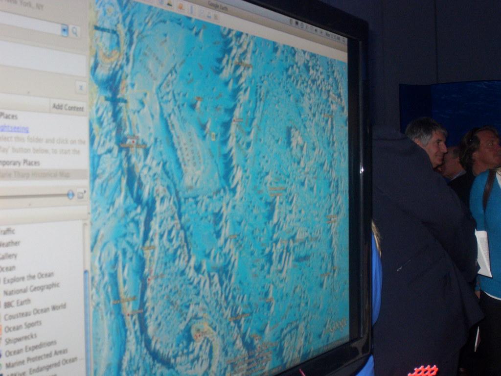 Marie Tharp World Ocean Floor On Google Earth Google Earth Flickr