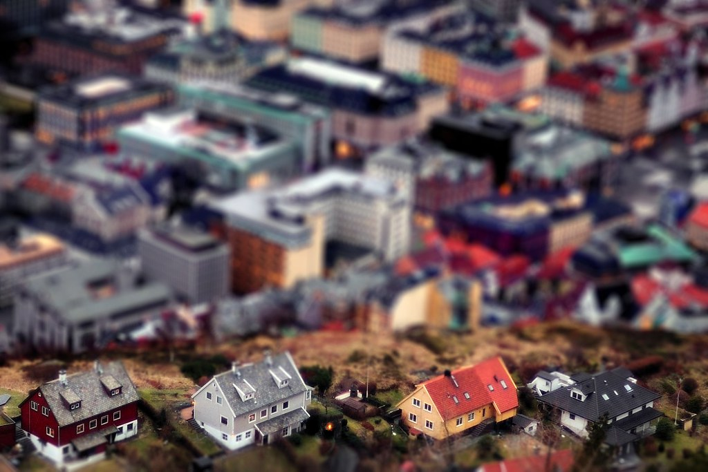 Bergen Centrum Model Shot 1 by aha42 | tehaha