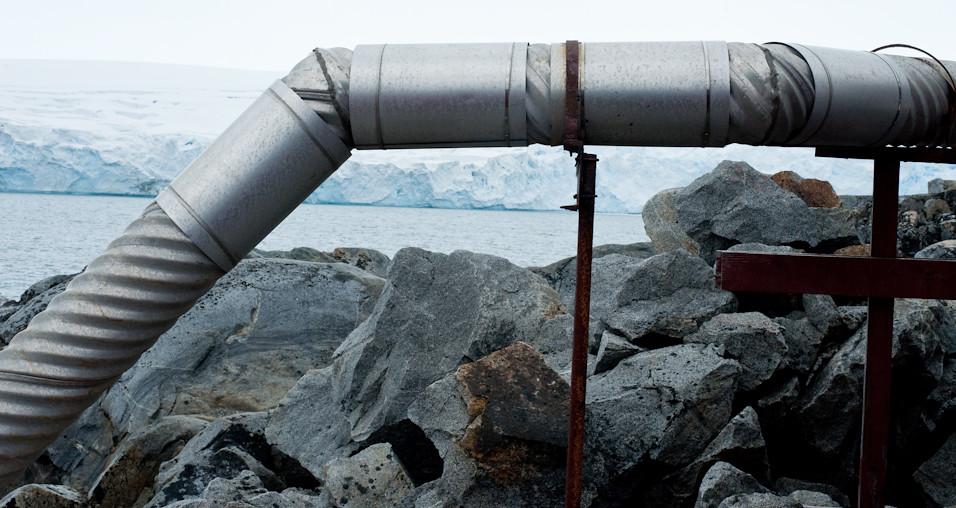 Piping Antarctica