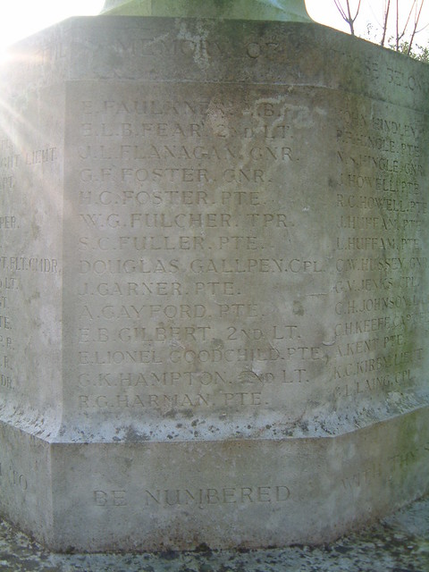 Eaton  - The Great War - Panel 3