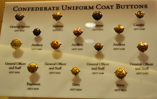 Civil War Confederate uniform buttons | Logan Enright | Flickr