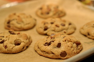 Perfect Chocolate Chip Cookies   by kimberlykv