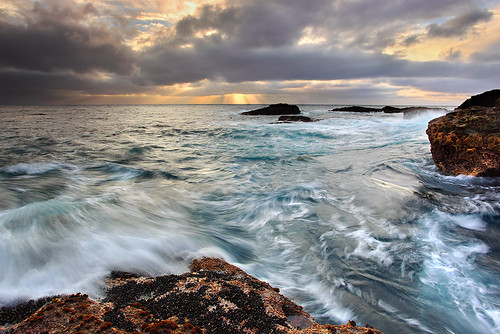 Sea and Storm - Point Lobos, California